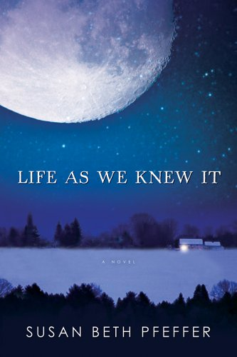 Life As We Knew It, Susan Beth Pfeffer, Book cover, moon