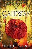 Gateway, Sharon Shinn, Book Cover, Parasol, Red, Oriental