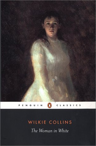 The Woman In White Wilkie Collins Book Cover