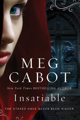 Insatiable, Meg Cabot, Book Cover, Paperback
