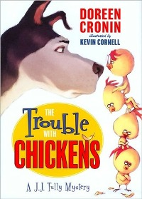 The Trouble With Chickens, Doreen Cronin, Book Cover