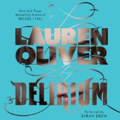 Delirium, Lauren Oliver, Book cover, audiobook