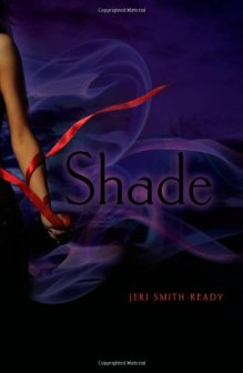 Shade, Jeri Smith-Ready, Book Cover, Hardcover, arm, purple, red ribbon
