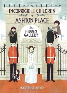 The Hidden Gallery, Maryrose Wood, Book Cover