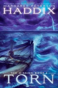Torn, Margaret Peterson Haddix, Book Cover, row boat