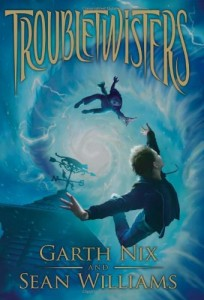 Troubletwisters, Garth Nix, Sean Williams, Book Cover, American