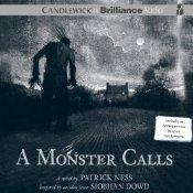 A Monster Calls, Patrick Ness, Book Cover, audiobook