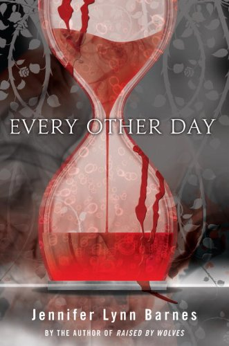 Every Other Day, Jennifer Lynn Barnes, Book Cover, hourglass, blood
