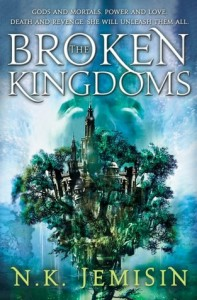The Broken Kingdoms, NK Jemisin, Book Cover