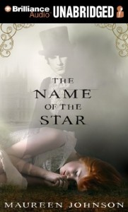 The Name Of The Star, Maureen Johnson, audiobook cover,