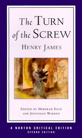 "an essay on the book the turn of the screw by henry james The turn of the screw essay  the text of henry james ""the turn of the screw"" has been judged the  it's on the turn of the screw i have lost my book,."