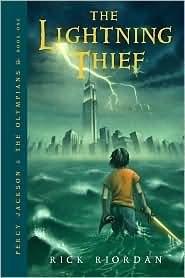 The Lightning Thief Rick Riordan Percy Jackson Book Cover