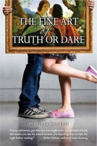 The Fine Art Of Truth or Dare Melissa Jensen Book Cover