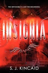 Insignia SJ Kincaid Book Cover
