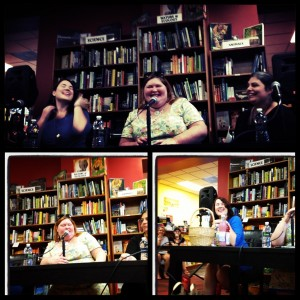 Cassandra Clare, Sarah Resse Brennan and Holly Black Book Signing