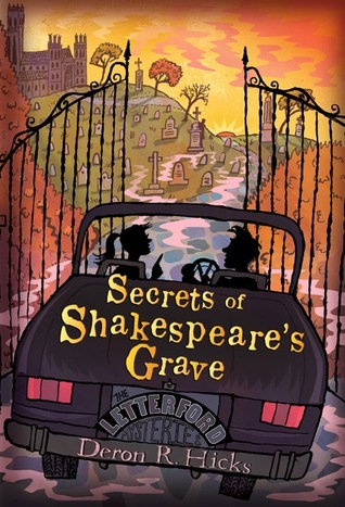 Secrets Of Shakespeare's Grave by Deron R Hicks Book Cover