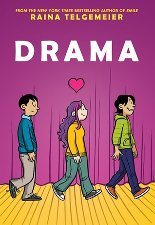 Drama Raina Telgemeier Book Cover