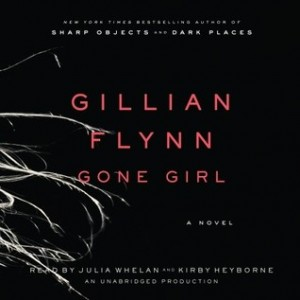 Gone Girl Gillian Flynn Audiobook Cover