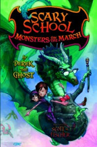 Monsters On The March Derek The Ghost Book Cover