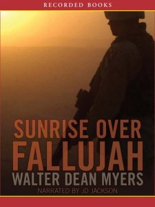 Sunrise Over Fallujah Walter Dean Myers Audiobook Cover