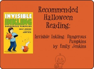 Recommending Halloween Reading Invisible Inkling