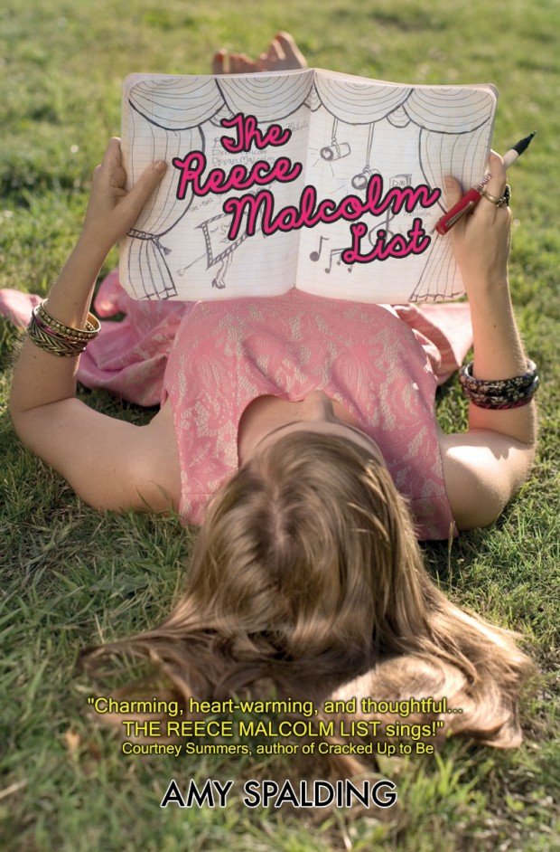 The Reece Malcolm List Amy Spalding Book Cover