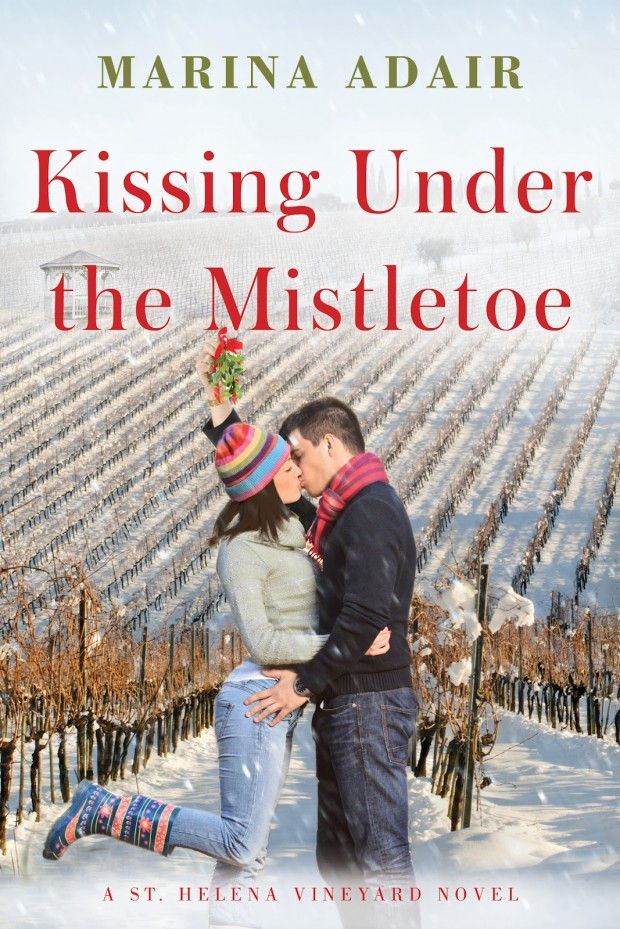 Kissing Under The Mistletoe Marina Adair Book Cover