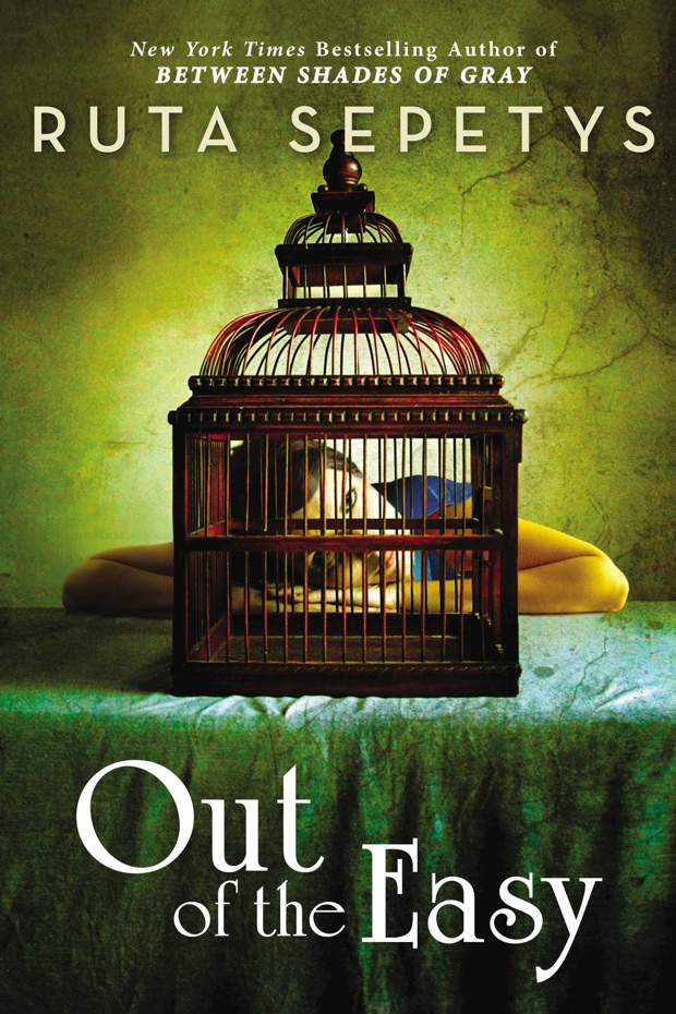 Simple Book Cover Reviews ~ Out of the easy by ruta sepetys book review