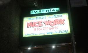 Nice Work Banner