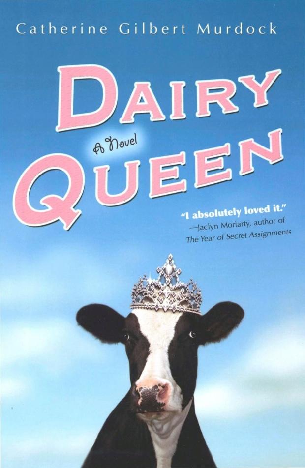 Cool Book Cover Queen : Dairy queen catherine gilbert murdock audiobook review