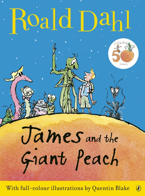 roald dahl james and the giant peach book report