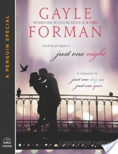 Just One Night by Gayle Forman | Novella Review