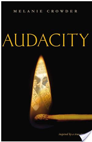 Audacity by Melanie Crowder | Book Review