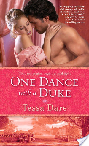 Review of One Dance With A Duke by Tessa Dare