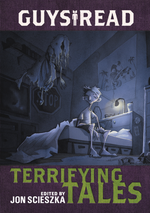 Guys Read: Terrifying Tales edited by Jon Scieszka   Book Review